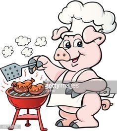 Bildergebnis für kochen clipart   Küche Grill Applikationen ...   {Koch bei der arbeit clipart 50}
