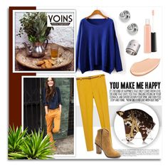 """""""Shop - Yoins"""" by melissa-de-souza ❤ liked on Polyvore featuring Zara, MAC Cosmetics, FOSSIL, Shiseido, Charlotte Olympia, women's clothing, women, female, woman and misses"""