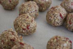 Almond and Goji Berry Trail Treats The Conscious Kitchen Healthy Snacks, Healthy Eating, Healthy Recipes, Skinny Love, Energy Bites, Berry, Almond, Trail, Muffin