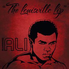 Muhammad Ali. The Greatest. Louisville Lip. Lonsdale Ambassador.