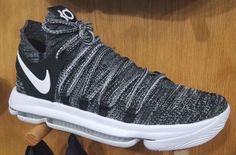 The Oreo Nike KD 10 features a Black and White Nike Flyknit upper that sits  atop a White midsole and full-length Zoom Air. 8b5052d078