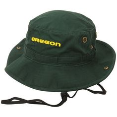 29be03f2356 Oregon Ducks Top of the World Angler Bucket Hat - Green