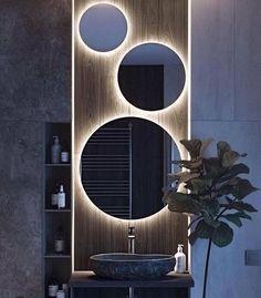 Simple Bathroom, Modern Bathroom Design, Bathroom Interior Design, Bathroom Ideas, Bathroom Designs, Shower Bathroom, Bathroom Mirrors, Master Bathrooms, Budget Bathroom