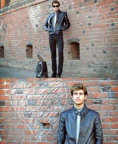 Adam Gallagher - Jacket, Similar Here > Tie, Coach Bag, Raybans - Be still my heart | LOOKBOOK