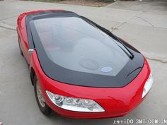 Chinese Electric Cars - The Cestar Smart... Size is 2700/1300/1450. Range is max 65km. Top speed is 80km/h. Power is 40hp. No other info on the engine...Drive is by a Constant Velocity Transmission. Weight is 660kg. Charging takes max 8 hours. Battery: 48V 100AH. Damn...