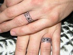 Celtic Wedding Ring Tattoos