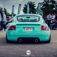 Minty green rear