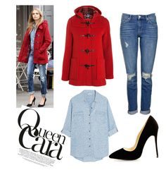 """""""QueenCara #2"""" by andy-barbz on Polyvore featuring Gloverall, Topshop and Splendid"""