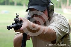 Firearms Training - Download From Over 25 Million High Quality Stock Photos, Images, Vectors. Sign up for FREE today. Image: 42830495