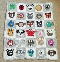 Hey, I found this really awesome Etsy listing at https://www.etsy.com/listing/473722741/animal-baby-blanket