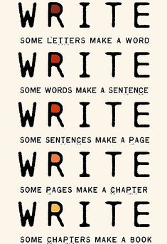 letter >> word >> sentence >> paragraph >> page >> chapter >> book >> a whole new world
