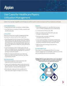 Use Cases For Healthcare Payers Utilization Management Use Case Wealth Management Health Care