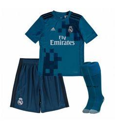 Real Madrid Tredjeställ Barn 17-18 Kortärmad Real Madrid, Gareth Bale, Ronaldo, 18th, Trunks, Swimming, Swimwear, Fashion, Drift Wood