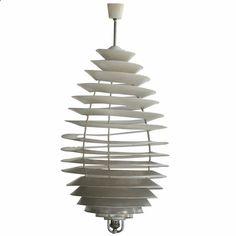 Poul Henningsen Spiral Light for Louis Poulsen 1942