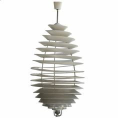Poul Henningsen Spiral Light for Louis Poulsen 1942
