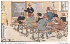 Cartofilia antigua: postal de La Classe
