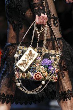 Detail at Dolce & Gabbana Spring 2016 Ready to Wear, Milan Fashion Week.