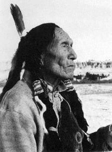 Black Elk was involved in several battles with the U.S. cavalry. He participated, at about the age of twelve, in the Battle of Little Big Horn of 1876, and was injured in the Wounded Knee Massacre. He became a Medicine Man of the Oglala Sioux. He taught the first peace was to realize that we are one with all creation and to realize that at the center of all creation was the Great Spirit and that it is everywhere and within us.