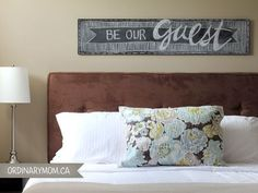 The sign ... Guest room. #bathroom interior #bathroom decorating| http://best-bathroom-modern-styles.blogspot.com