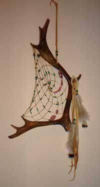 Antler Dream Catcher XXXL antlers vary