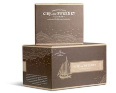 Kirk and Sweeney - packaging-The Dieline