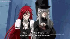 grell and undertaker gifs - Google Search