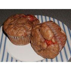 Great taste strawberry muffins for breakfast