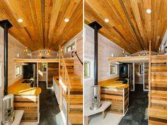 Interior Views - MH by Wishbone Tiny Homes