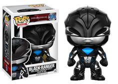 Funko POP Movies: Power Rangers Black Ranger Toy Figure