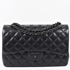 Chanel 'So Black' Classic Flap