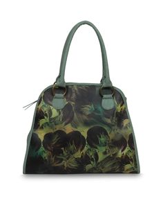 Enrich Moly Mint green - An unsual art movement inspired bag by Baggit.