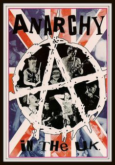 Sex Pistols Anarchy in the UK poster