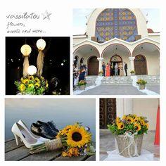sunflowers wedding decoration <3 Sunflower Wedding Decorations, Table Decorations, Mansions, House Styles, Sunflowers, Furniture, Home Decor, Decoration Home, Room Decor