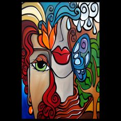 """Artist: Thomas Fedro  Title: """"Transitions""""  Size: 24 x 36""""  Media: Acrylic  Support: Stretched Canvas  Created: 2013  Edition: Original  Signed: Front & Back     READY TO HANG!     FREE USA SHIPPING"""