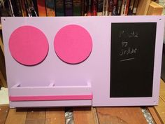 (1) #ecocreatehour - Twitter Upcycled chalkboard by Simons Shed