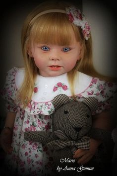 So Real Reborn Baby Toddler Girl Doll Bonnie 29 by Linda Murray Now Marie