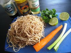 Quick Sunflower Seed Butter Noodle Stirfry
