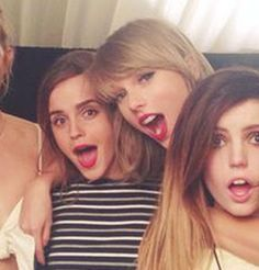 TAYLOR. SWIFT. AND. EMMA. WATSON. | Emma Watson Just Took Taylor Swift's Squad To A Whole New Level