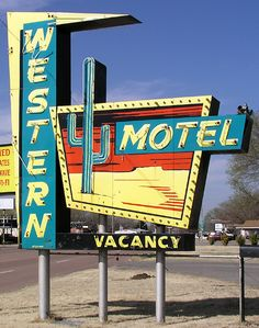 Western Motel, Route 66 - Sayre, Oklahoma