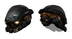 Pathfinder Helmet Concept from Mass Effect: Andromeda
