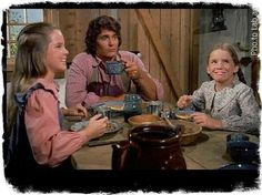 Little House On The Prairie:  Mary, Charles and Laura Ingalls