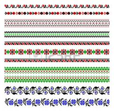 illustrations of ukrainian embroidery ornaments, patterns, frames and borders. Stock Vector - 8877434 illustrations of ukrainian embroidery ornaments, patterns, frames and borders. Cross Stitch Borders, Cross Stitch Designs, Cross Stitch Patterns, Sewing Art, Hand Sewing, Peyote Patterns, Crochet Patterns, Paper Towel Roll Crafts, Palestinian Embroidery