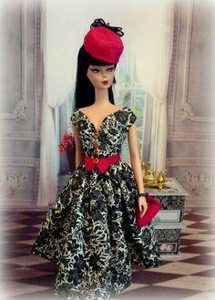 Café Noir for Silkstone Barbie vintage repro by Rosedollhouse
