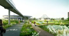 Nanjing Ecological and Technological Island / AAUPC Agence Patrick Chavannes + G.C.A. Design Consulting