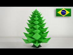 Origami: Árvore de Natal 2.0 - Instruções em Português BR - YouTube