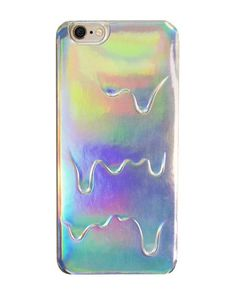 Holographic Hologram Drip iPhone case