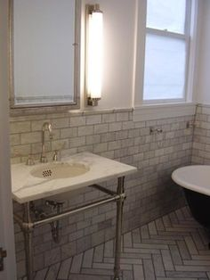 Home Hall Bath Marble Wainscotting On Pinterest Marble