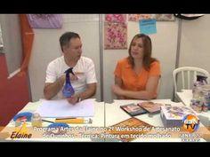 ARTES DA ELAINE 10-04 - PINTURA EM TECIDO MOLHADO - PARTE 1 - YouTube