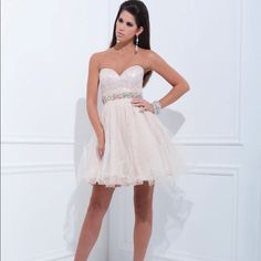 Nwt Tony Bowls Sequin Prom Dress Size 2