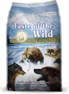 Taste of the Wild Pacific Stream Dry Dog Food, 30-lb bag  chewy.com $40.79